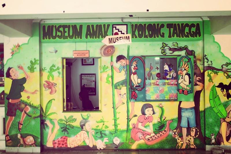 Museum Anak Kolong Tangga, Museum Mainan Anak Pertama di Indonesia