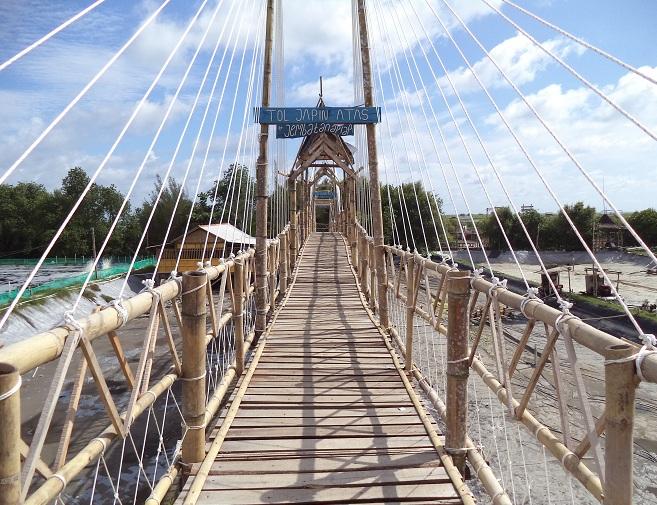 Hutan Mangrove Jembatan Api-Api, Serunya Selfie di Pinggir Kali