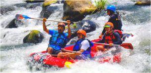 Paket Wisata Jogja Rafting Sungai Elo