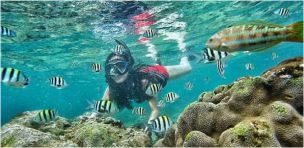Paket Wisata Jogja Snorkeling Sadranan